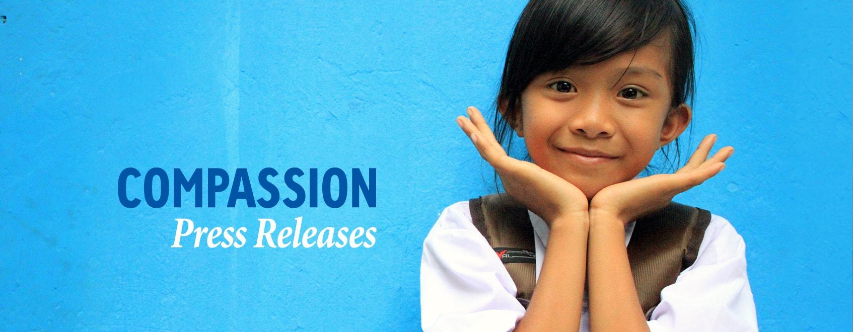 Compassion press releases