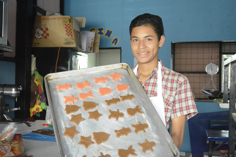 Sponsor child bakery