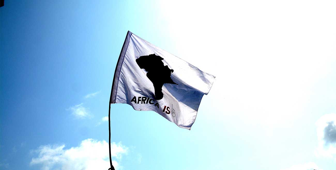 Africa is flag