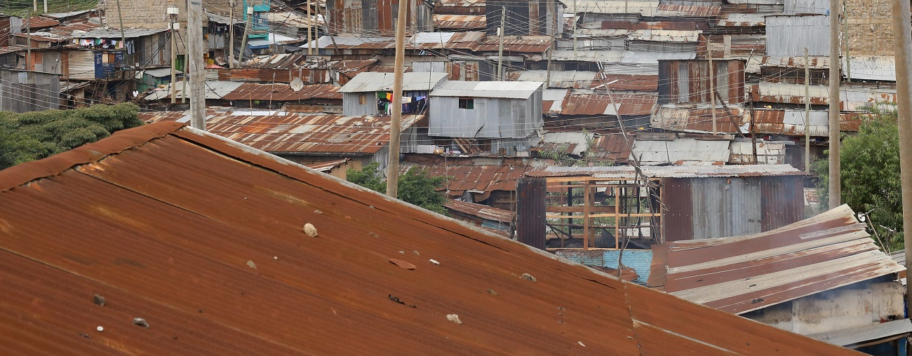 Kenyan rooftops