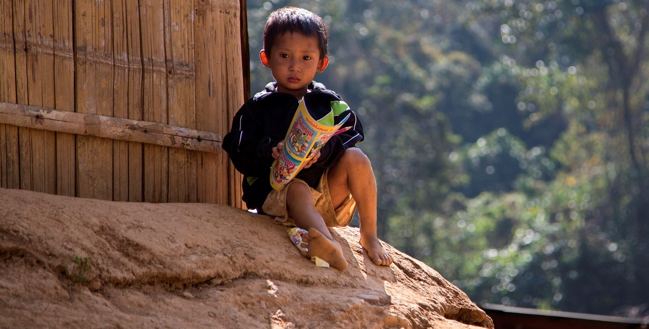 Child refugee in Thailand
