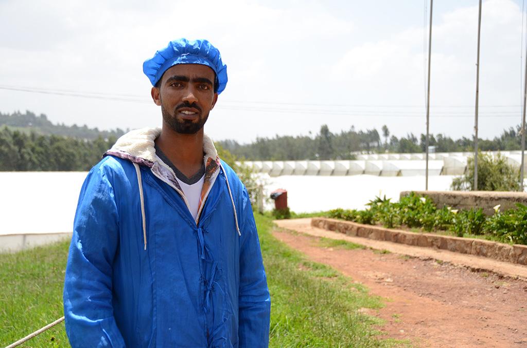 Compassion graduate from Ethiopia
