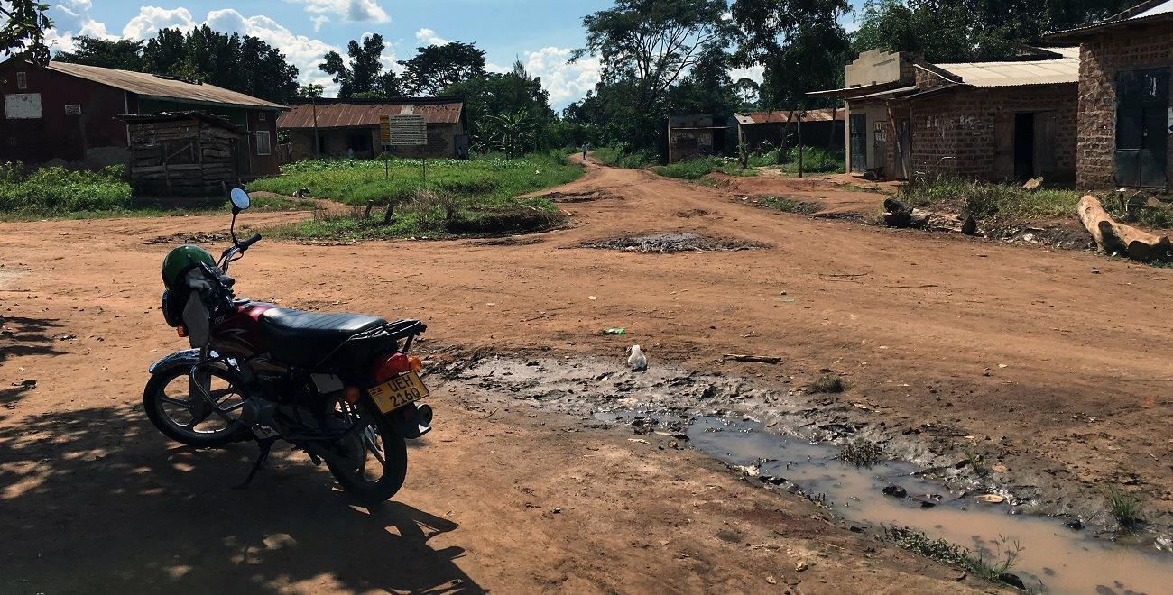 Motorbike in Uganda