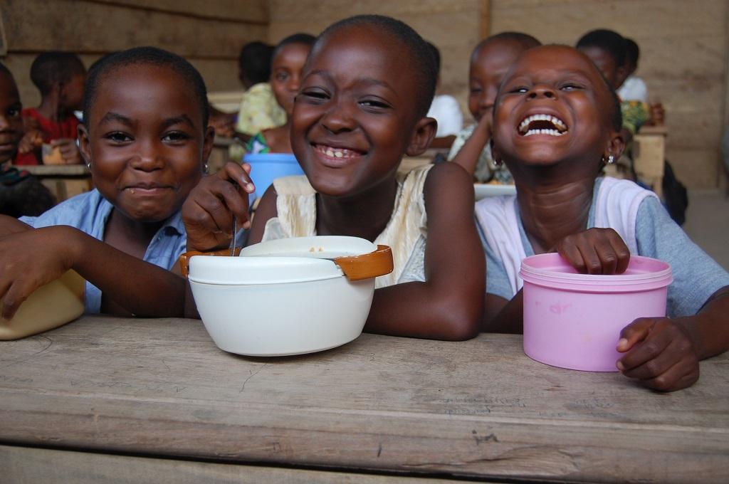 Christmas dinner in Ghana