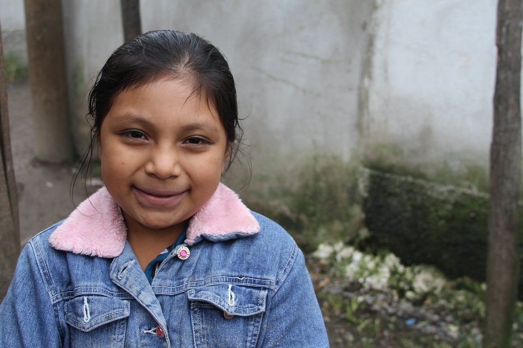 Sponsored child Abby from Guatemala