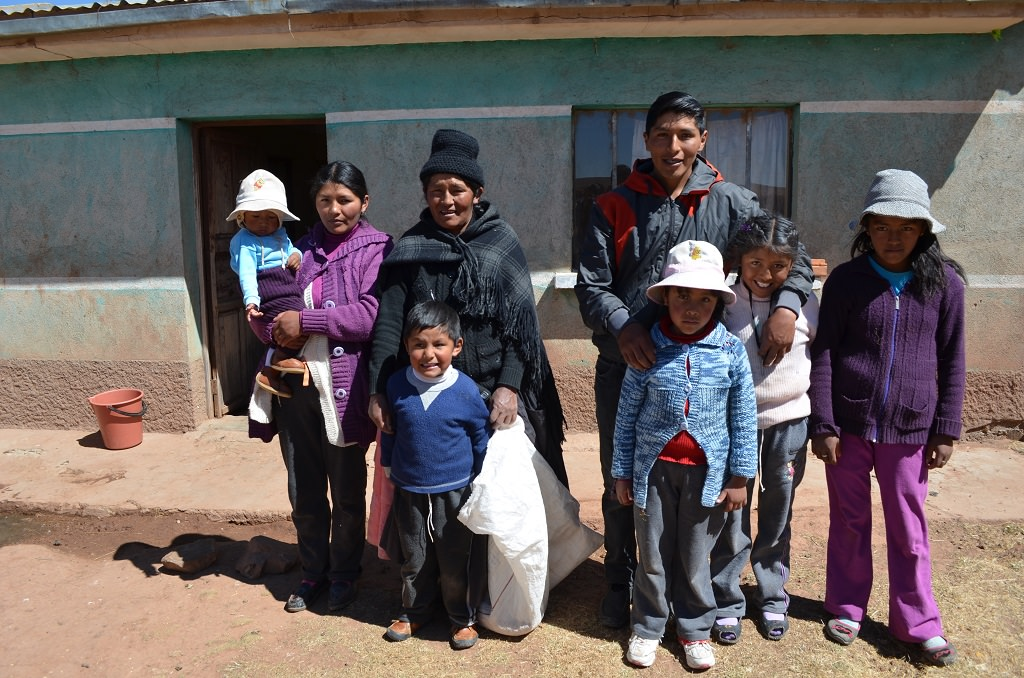 Miguel and his family