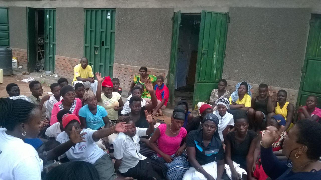 Mothers in Uganda