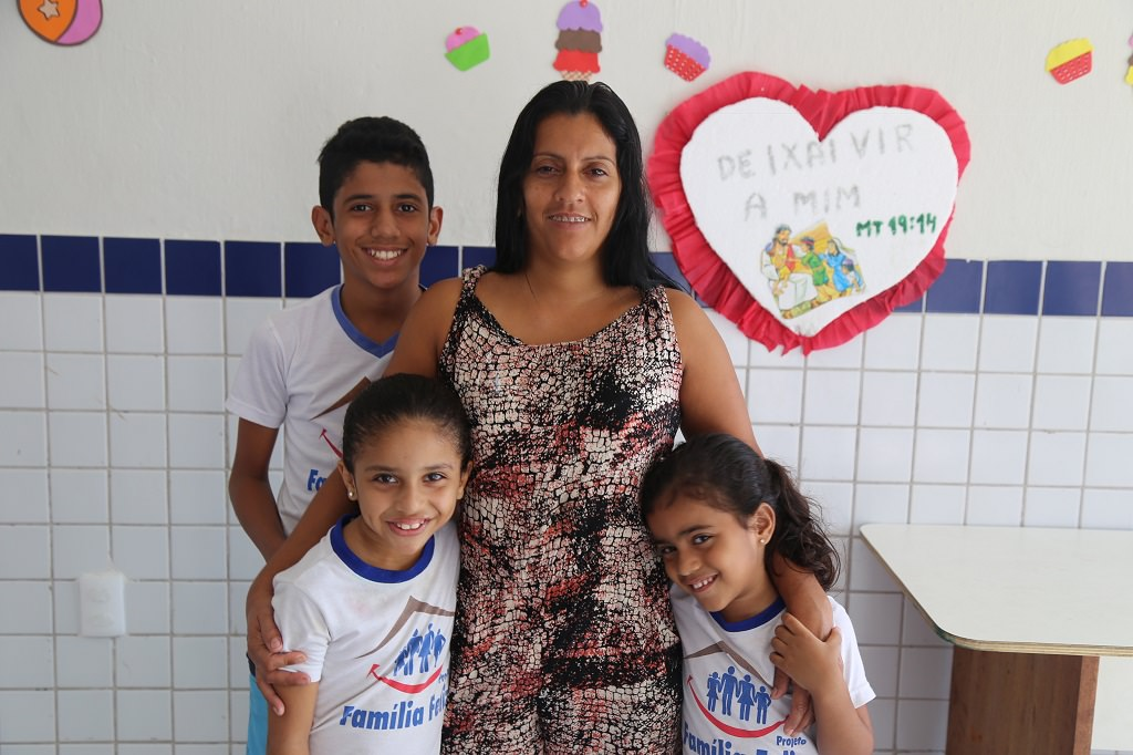 Brazilian Compassion project family