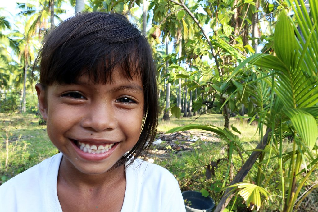 Abandoned girl from Philippines