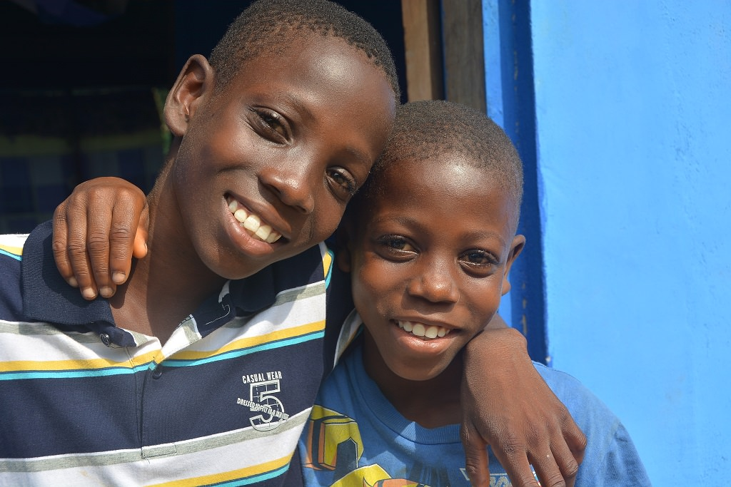 Sponsored children in Ghana