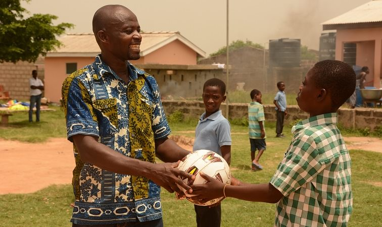 Compassion project director in Ghana
