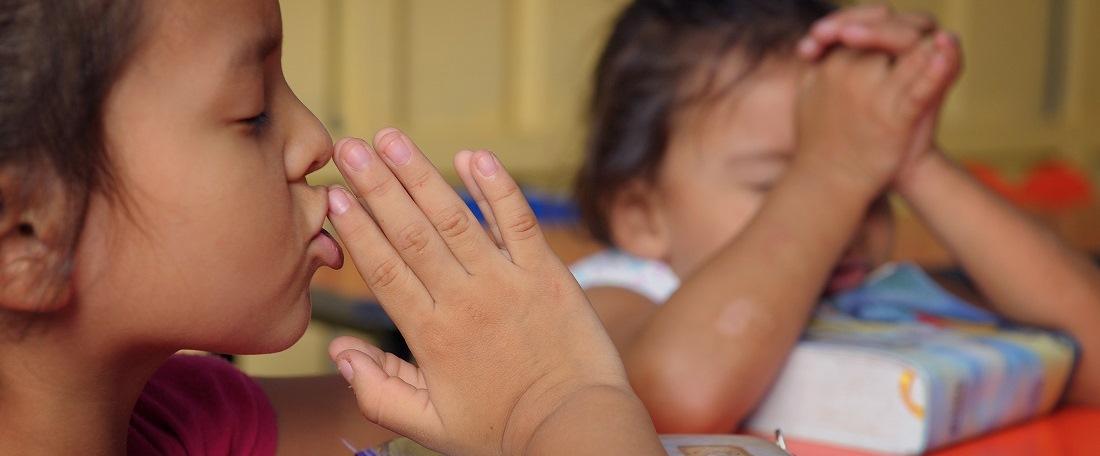 Praying in El Salvador