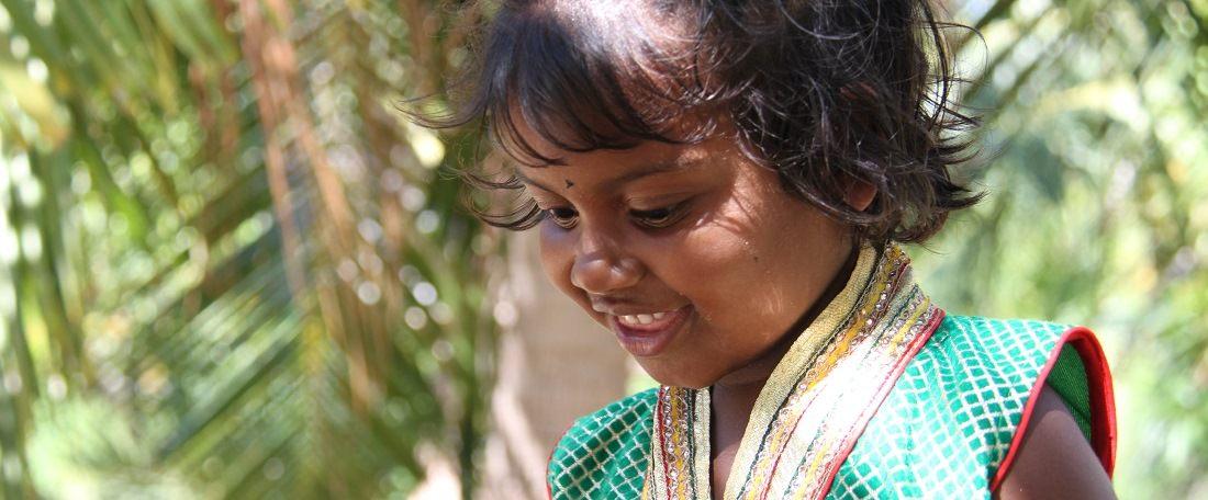 Little girl from Sri Lanka
