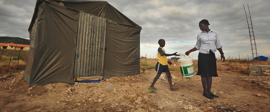 Shelter in Haiti