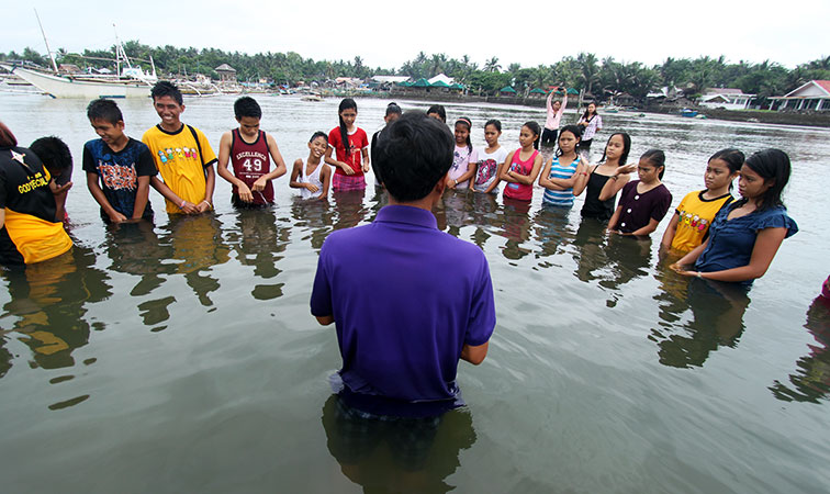 Baptisms in the Philippines