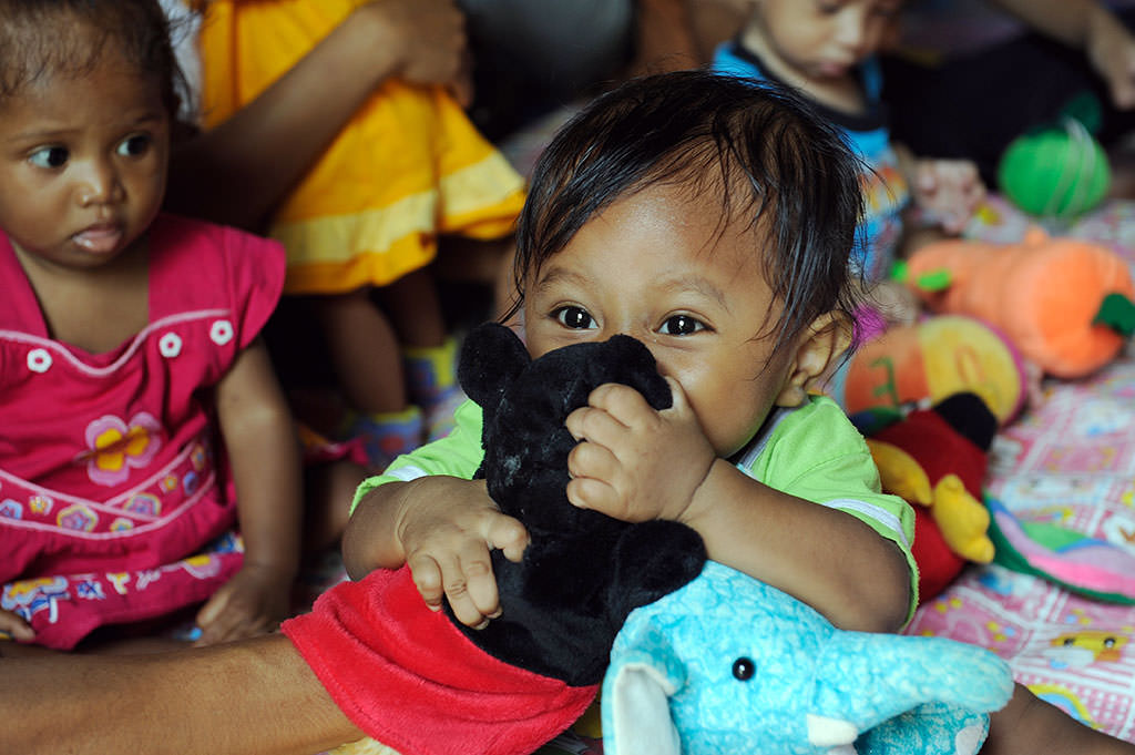 Baby in Indonesia