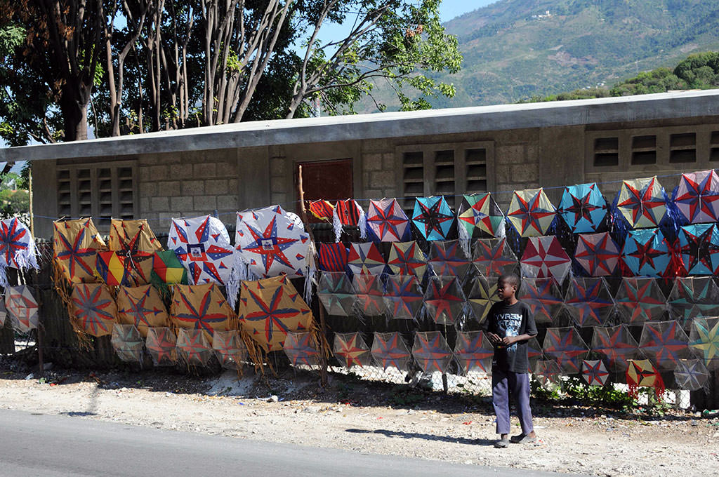 Easter kites in Haiti