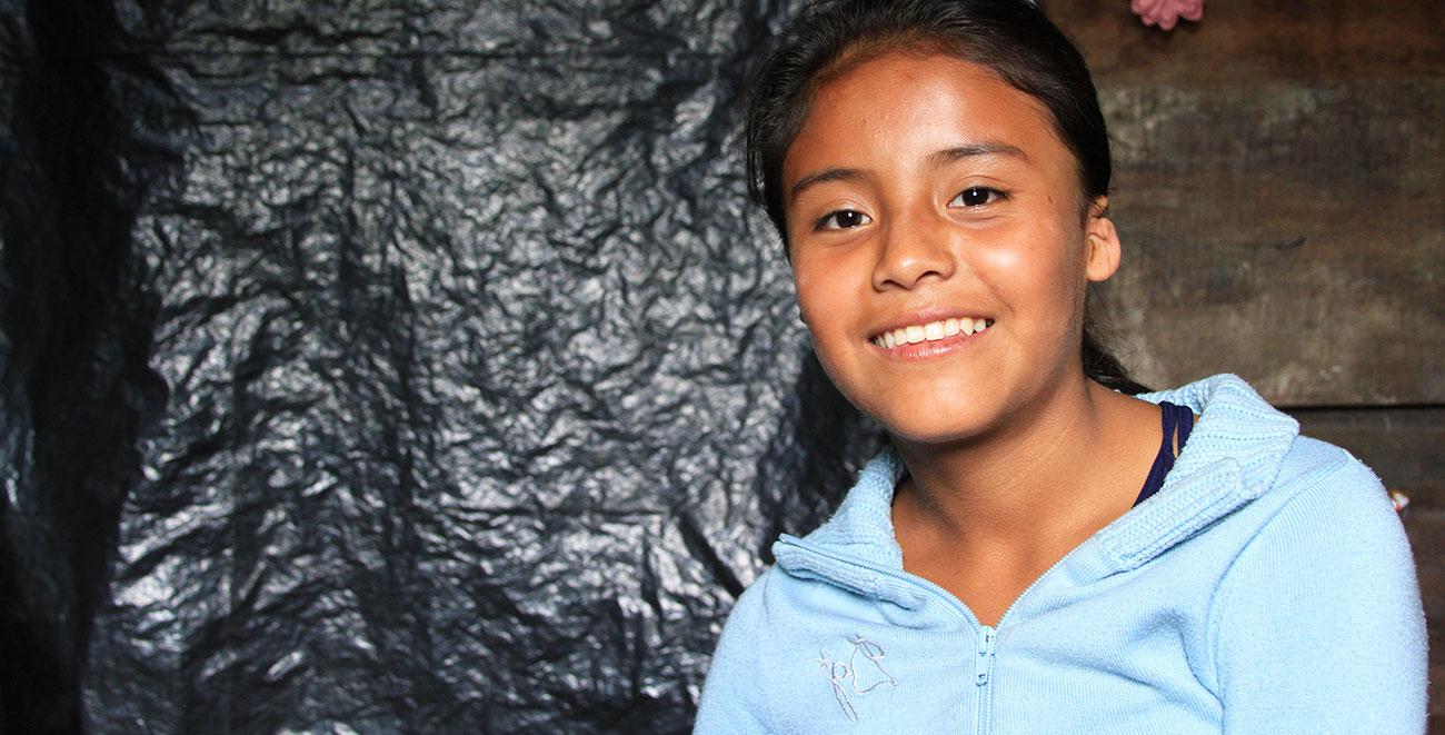 Guatemalan sponsored child Mariela