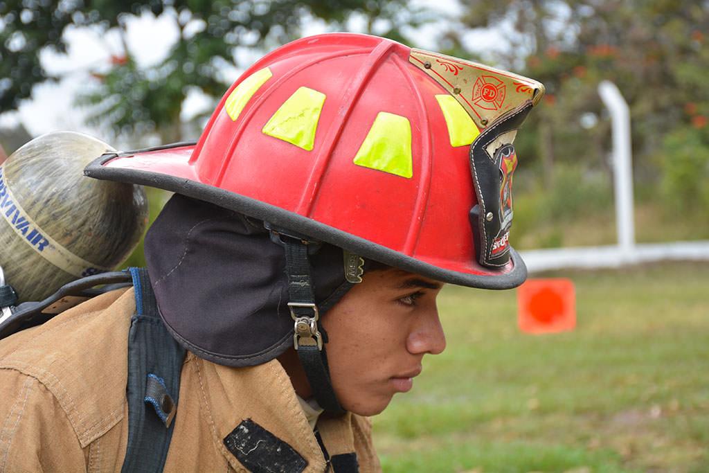 Fireman in Honduras