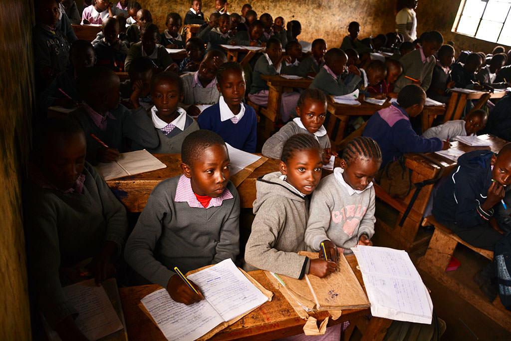 Kenyan classroom