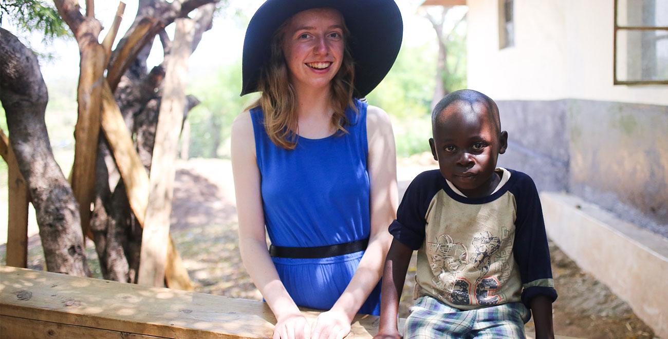 Compassion sponsor visit in Kenya
