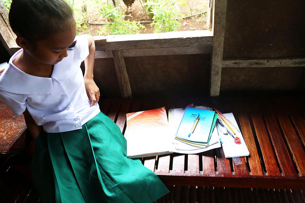 School bag in the Philippines