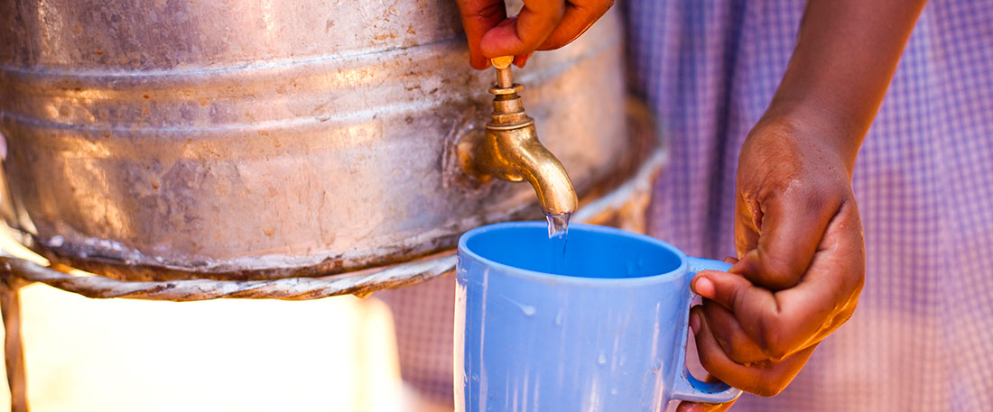 Safe water provision in Kenya
