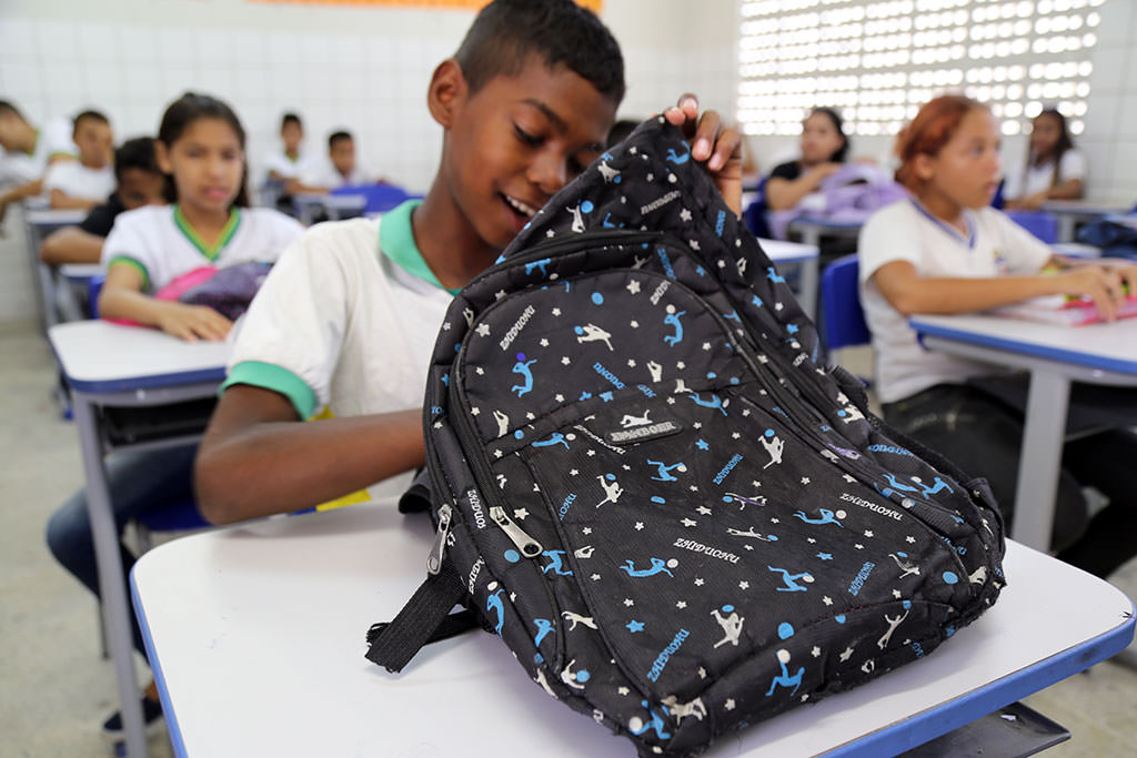 School bag in Brazil
