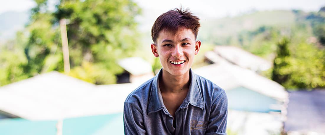 Sombat child refugee Thailand