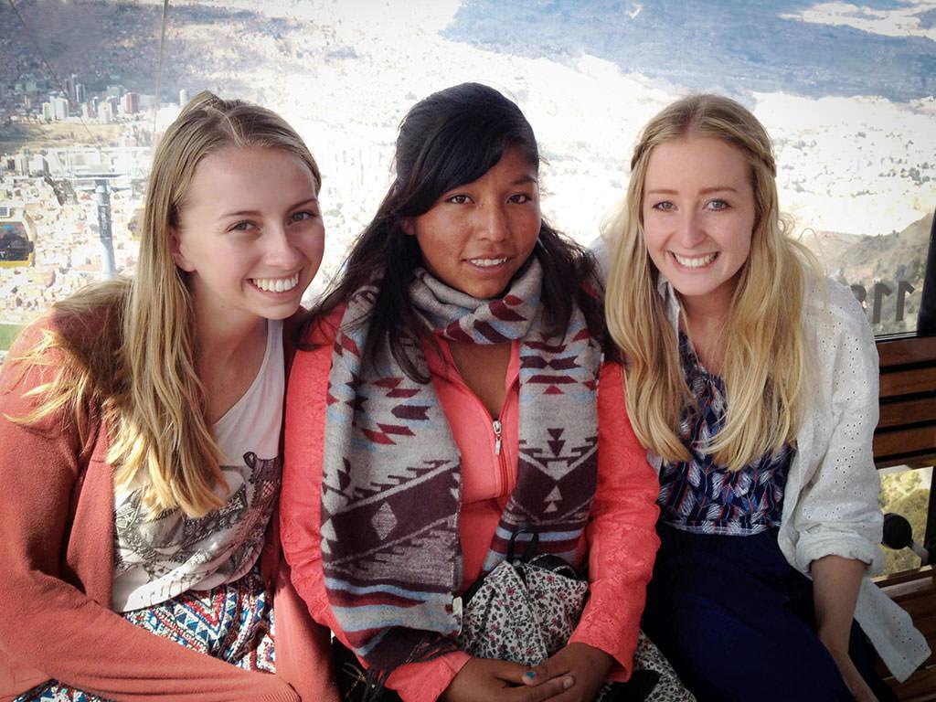 Sponsor visit in Bolivia