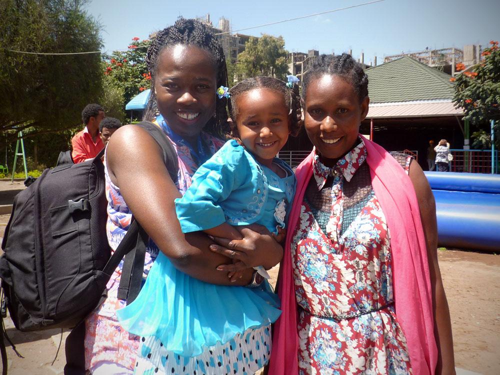 Compassion sponsor visit in Ethiopia