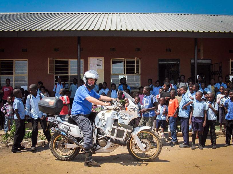 Motorbiking across Africa