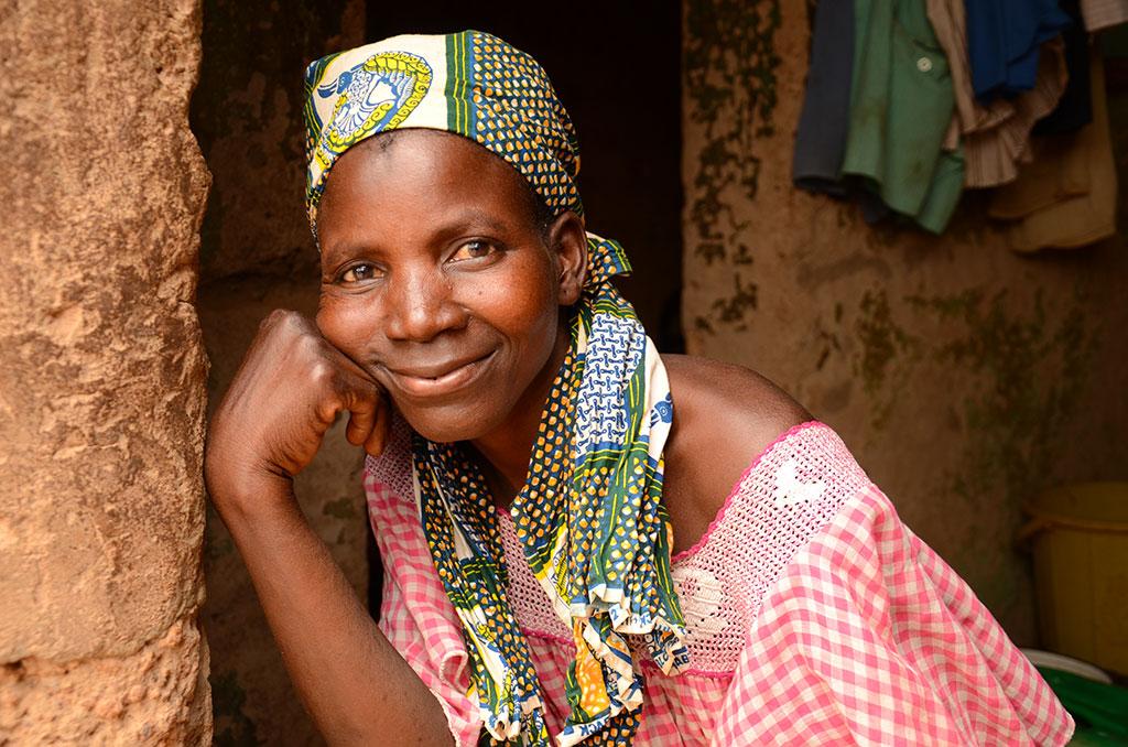 Mother in Burkina Faso