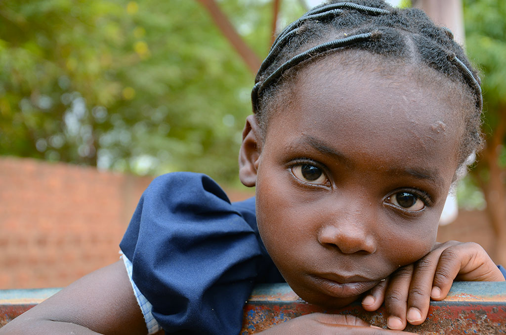 Compassion sponsored child Balkissa