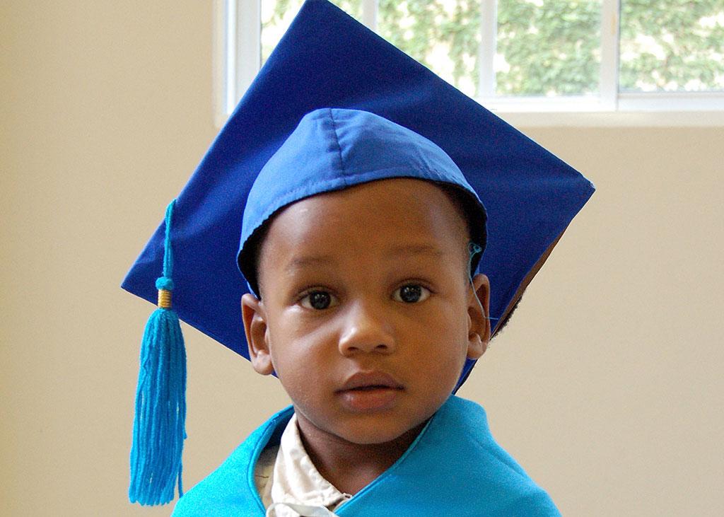 Brailin Child Survival Programme graduate