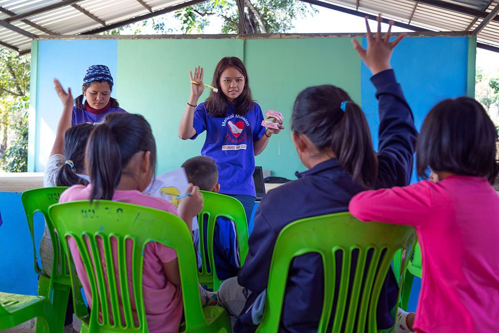 Hygiene education in rural Thailand