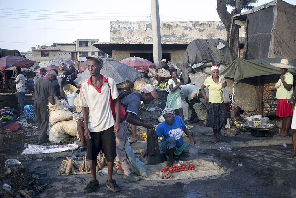 Haitian market