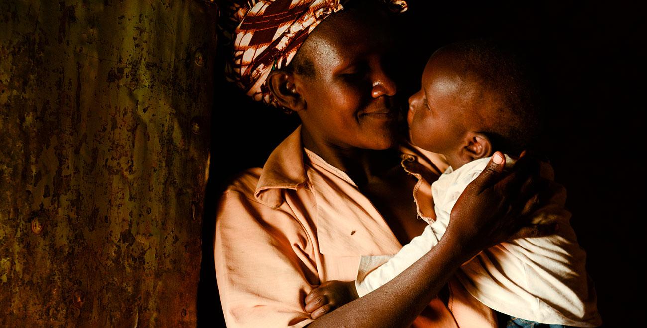 Baby in Kenya