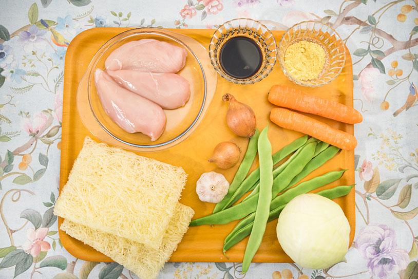 Pancit noodle ingredients