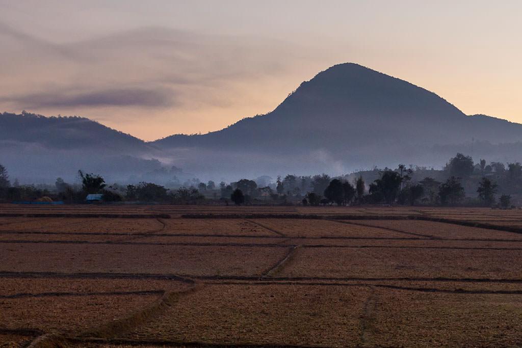 Rural Thailand village