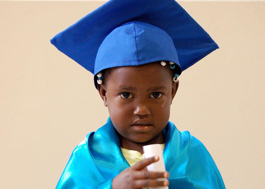Yaritza Child Survival Programme graduate
