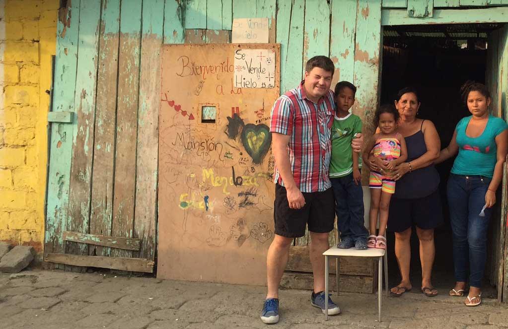 Sponsored child's Benjamin's house