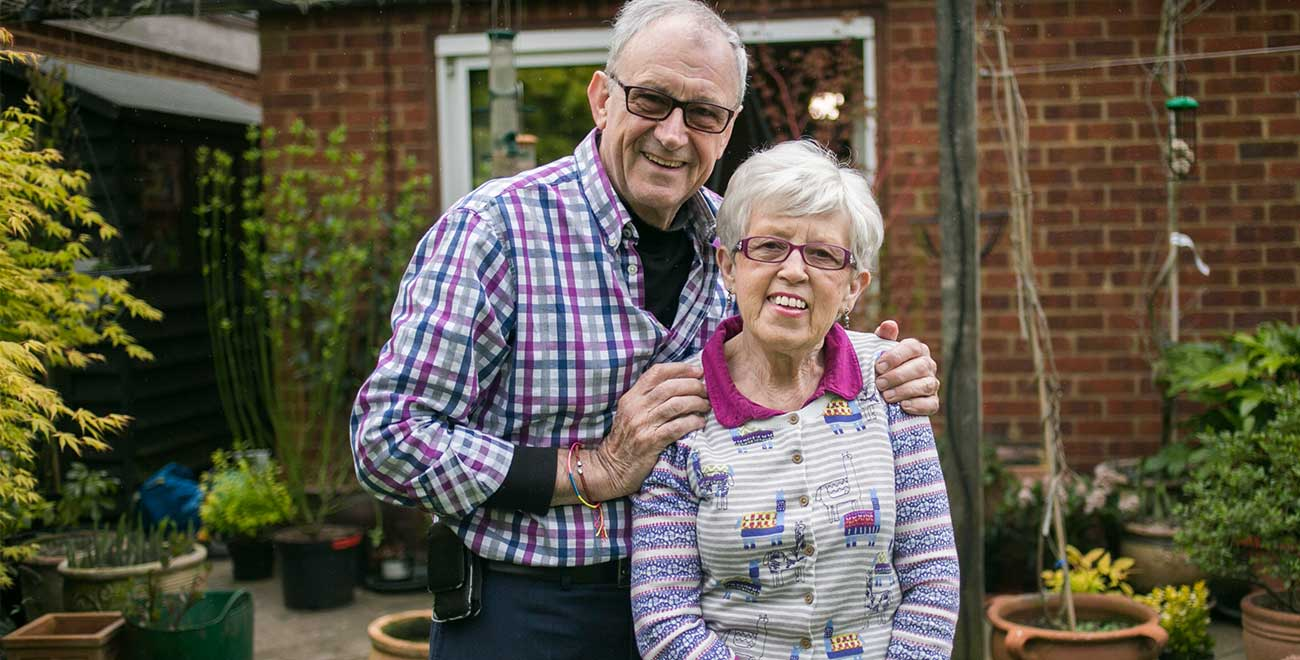 Esther and David Woods