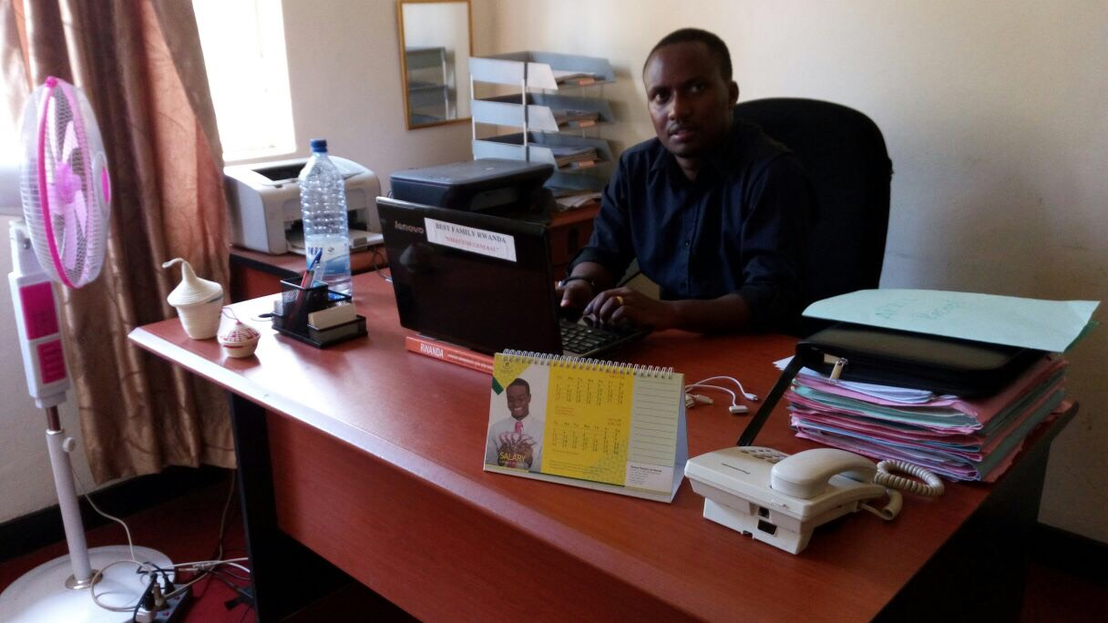 Compassion graduate Jean Claude is now a lawyer
