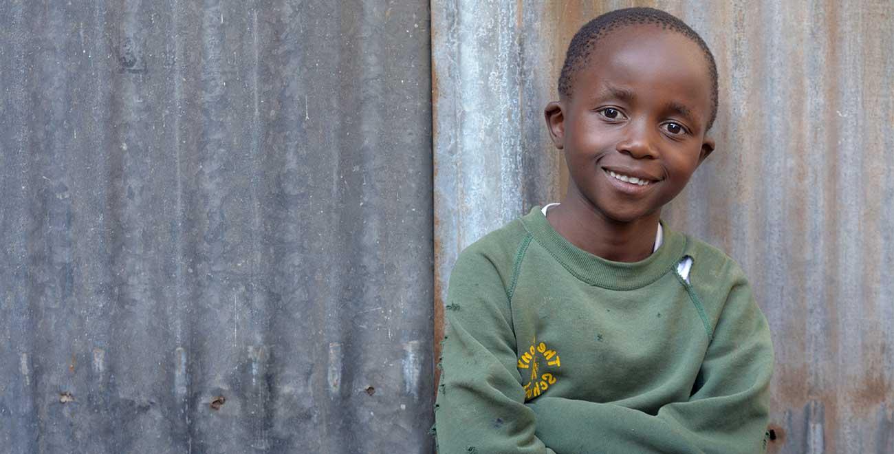 Luis from Kibera slum