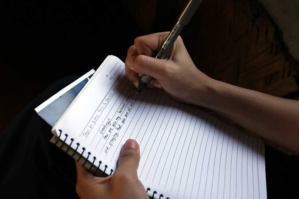 Writing sponsor letter