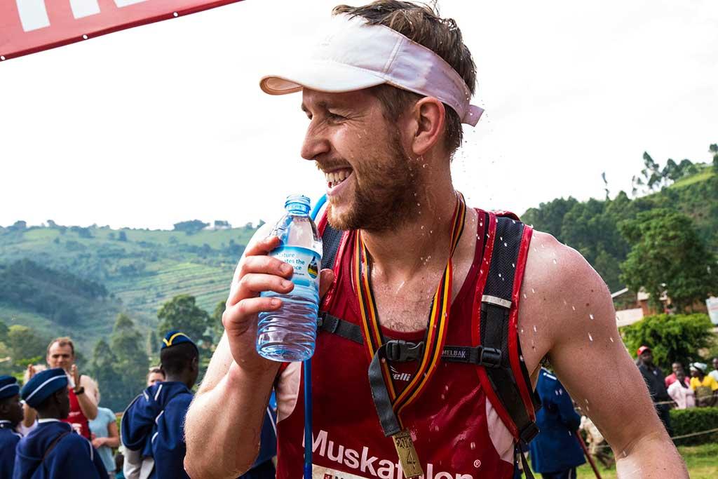 Running a marathon in Uganda