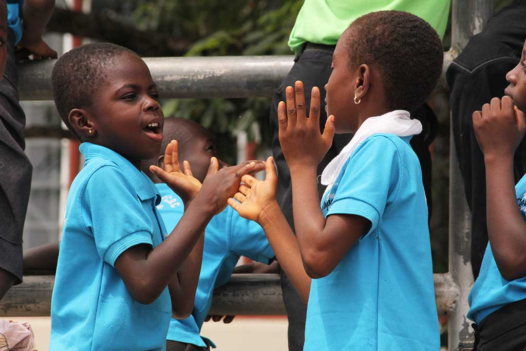 Hand clapping games in Ghana