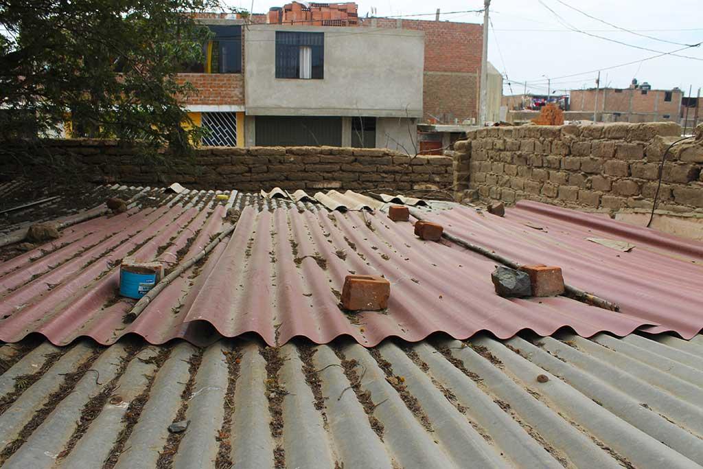 New roof in Peru