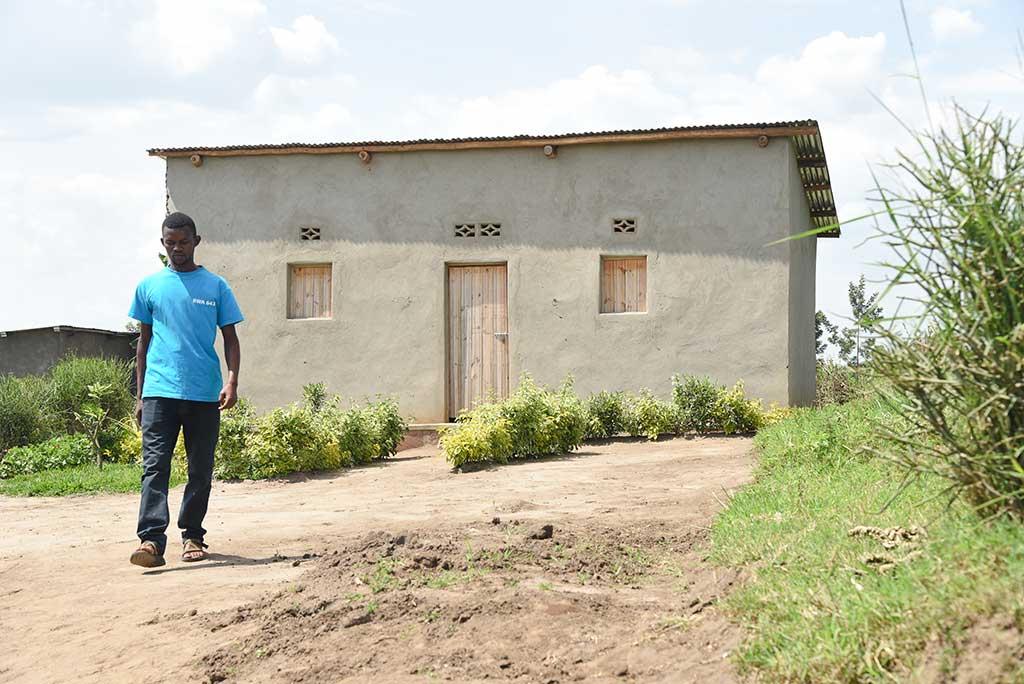 Mutabazi's new home